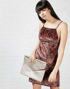 #ARKLOVES the perfect boho inspired velvet dress - Motel Francois Paisley Dress