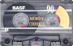 BASF cassette tape - remember recording all my music from the radio, on my karaoke machine!