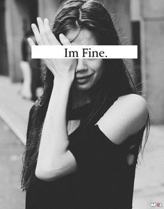 I'm not fine at all. I won't be using this space anymore after tonight. You know my phone number and my address. I won't accept anything other than direct communication now. That's what I've deserved all along. Call me, text, write to me or visit in person. I'm not communicating like this anymore. It makes me feel worthless and sad. I know what I need to understand you now. Thank you for all of your amazingly beautiful gestures. I love you so much.❤️ xxxx
