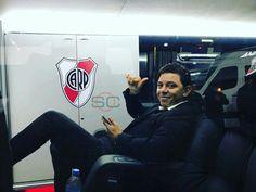 Gallardo vuelve feliz al Monumental