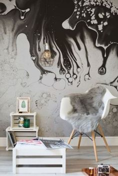 Murals Wallpaper have curated the Rough Luxe collection, a selection of wallpaper murals that allow you to bring industrial elements into your home with no hassle and minimal effort. The murals utilise modern digital printing techniques and capture the textured effects through HD photography Contrast with luxurious faux-fur accents, exposed filaments and bold metals for some seriously on trend décor to make a phenomenal impact. #wallpaper #industrial #bold #metals #impact #different #unique