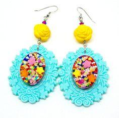 Sweet lolita jewely big candy statement by sparklecityjewelry