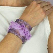 Paintable Canvas Cuff Bracelet.