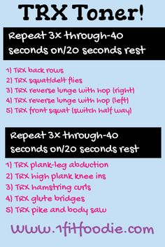 TRX Timed Circuit + Treadmill HIIT workout!