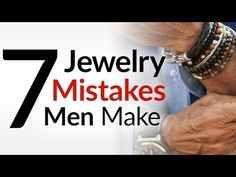 """Real men don't wear jewelry.""  Or how about...  ""I don't think I could pull that off.""  Have you ever heard those excuses?  I hear them all the time.  Gentleman, it is BS.  I understand many guys are not comfortable wearing jewelry.  And there is a right and wrong way to do it.  But"