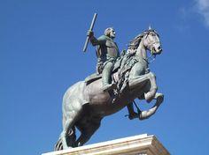 Monumento equestre a Filippo IV di Spagna, Pietro Tacca, Plaza de Oriente, Madrid