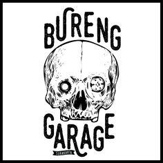The name of my friend's garage. BURENG GARAGE #design #poster