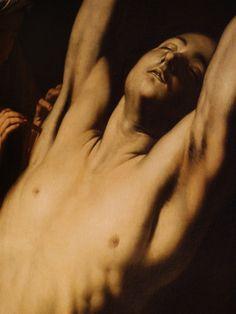 Saint Sebastian (detail), by José de Ribera (lo Spagnoletto)