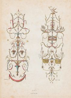 Nouvelle collection d'arabesques, 1810 i by peacay, via Flickr