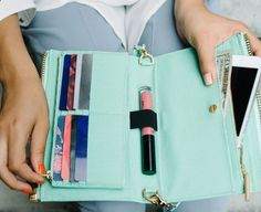 THE DAGNE DOVER clutch wallet ooohhhhh I really want this