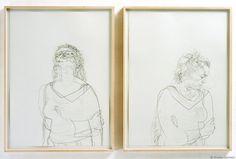 Dryden Goodwin, Above/Below - drawings (2003)
