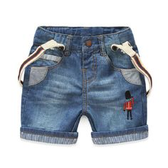 2016 summer Korean soldier trousers original single brand children's clothing boys jeans shorts for 2-7y Free Shipping 15262107 //Price: $US $19.00 & FREE Shipping //     #beauty