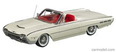 GENUINE-FORD-PARTS GPF522 Scale 1/43  FORD USA THUNDERBIRD SPORT ROADSTER 1962 WHITE