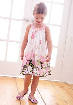 swing dress.  Easy and fun to wear