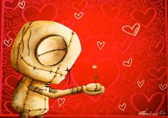 """Fabio Napoleoni- """"Feel The Love """" - Size 22 by 17 - Limited Edition Giclee Canvas Fabio Napoleoni What the heart wants the heart needs is discover in a Fabio Napoleoni paintings. Vintage elements, wit"""