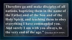 The Great Commission - http://blog.peacebewithu.com/the-great-commission/