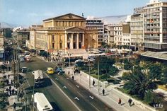 Piraeus  (60's) Greece Pictures, Old Pictures, Old Photos, Thessaloniki, Athens Greece, New Perspective, Best Memories, Ancient Greek, Historical Photos