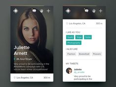 Date #app - Via http://www.themangomedia.com/blog/gorgeous-user-interface-design-inspiration/ @teammangomedia
