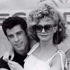 John Travolta and Olivia Newton-John Grease 1978, Grease 2, Grease Movie, Grease Actors, Olivia Newton John Grease, Grease Theme, Grease Is The Word, Danny Zuko, 70s Aesthetic