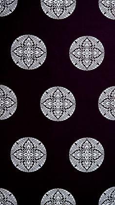 Detail of the pattern on heian silks..