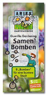 Aries, Samenbomben Klassik für `Guerilla Gardening` , 8 St.: Amazon.de: 5,99