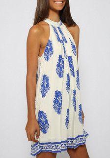 Leaf Print Tent Dress ,  - Lookbook Store, Lookbook Store  - 2