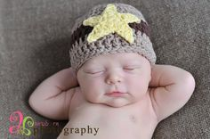 SHERIFF NB Beanie by CrochetCuteness on Etsy, $16.00