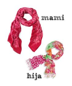 Bright and Lightweight Scarves