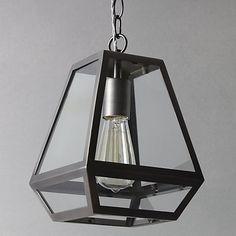 Buy John Lewis Oxford Antique Nickel Lantern Online at johnlewis.com