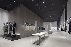 Retail Design | Shop Design | Fashion Store Interior Fashion Shops | theory shop by Nendo, Los Angeles – California