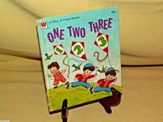 One Two Three by Charlie Whitman Tell A Tale 2440 1973 Counting Price 25 Cents