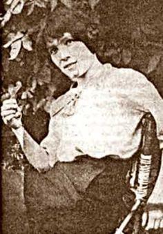 Anna Dondon, la compagne de René Valet. Elle vivait avec lui dans la maison de Nogent-sur-Marne qui sera assiégée par la police.