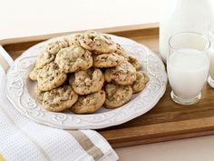 Butter cookies with gooey dates and toasted pecans. Time-Tested Family Recipe from Kelly Jaggers. Drop Cookie Recipes, Delicious Cookie Recipes, Yummy Cookies, Dessert Recipes, Pecan Cookies, Healthy Cookies, Dessert Ideas, Kosher Recipes, Lemon Recipes