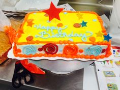 Trying something new at work, walmart cakes