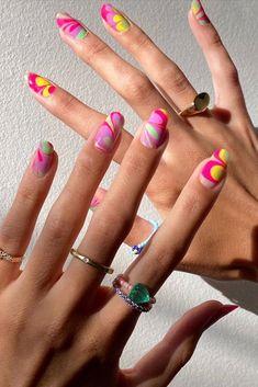 Acrylic Nail Designs, Acrylic Nails, Coffin Nails, Acrylics, Hair And Nails, My Nails, Nail Inspo, Fire Nails, Trendy Nails