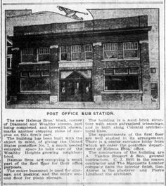 Building Announcement, Grand Rapids Herald, March 19, 1916