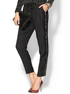 If you like these Joie Sayla B. Pants | Piperlime you need to check out #CAbi Bianca Pant #520 on my CAbi board.