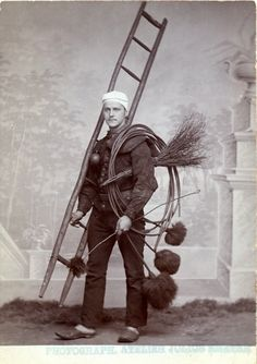 Chimney sweep - Paris