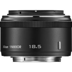 Nikon 1 NIKKOR 18.5mm f/1.8 (Black) by Nikon. $186.95. From the Manufacturer                                                                                                                                                                                                                                            Shoot in the dimmest lighting conditions without a flash or softly blur the backgrounds of your photos and videos with the first f/1.8 lens in the 1 NIKKOR li...