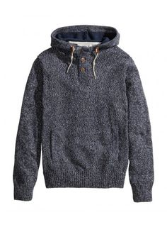Hooded knit