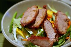 Cellphone Noodle Salad with Roasted Pork / Smitten Kitchen