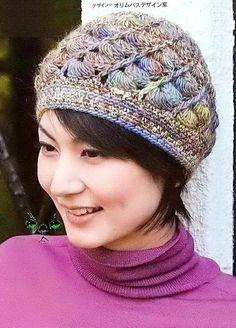 ergahandmade: Crochet Hat - Beanie + Diagrams