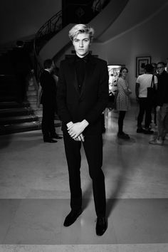"lorealparisofficial: "" Lucky Blue Smith at L'Oréal Cannes by Jonas Bresnan """