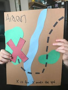 X is for X Marks the Spot #xmarksthespot #x #pirateweek #lettercraft