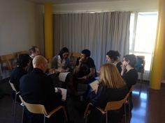 Nuestro Director Técnico, Xavier Ferrer, en una de sus interesantes intervenciones en la sesión de trabajo sobre el Retorno Social de la Inversión #SROI