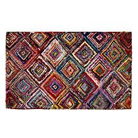 Diamond Sari Area Rug - Uncommon Goods :: $129 - 5' x 3'