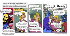 Tv Tropes - By The Power Of Grayskull! by MikeHowland