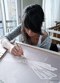 Ateliers Lesage - Paris. broderie haute couture