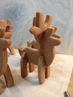 Image result for gingerbread reindeer template