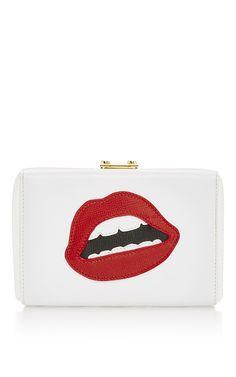 Grace Lips Clutch by MARK CROSS for Preorder on Moda Operandi